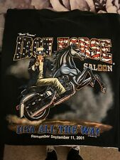 World Famous Iron Horse Saloon USA All The Way 2001 2XL NOS
