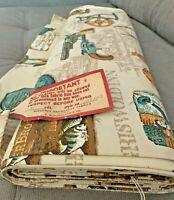 Vintage 8 yd Bolt Waverly Schumacher Fabric Colonial New England - NOS w/Tag