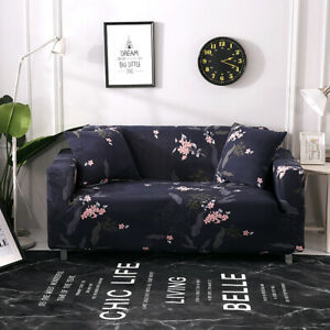 Stretch Chair Sofa Covers Couch Cover Elastic Protector Slipcover 1/2/3/4 Seater