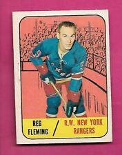 1967-68 TOPPS # 30 RANGERS REG FLEMING  GOOD CARD (INV# C4775)