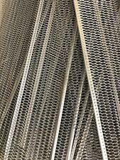 """gutter screens guards mesh - 36"""" X 5"""" - Aluminum"""