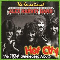 Sensational Alex Harvey Band - Hot City  (1974 Unreleased Studio Album)  CD