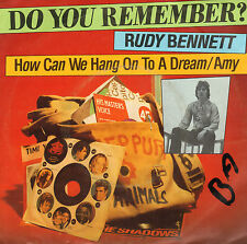 RUDY BENNETT (EX-MOTIONS) - How Can We Hang On To A Dream (REISSUE 1967 SINGLE)