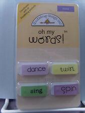 NEW DOODLEBUG DESIGN INC OH MY WORDS! DANCE  774  1701