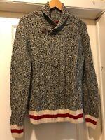 Roots Sweater Sz M Classic Shawl Collar