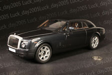 KYOSHO Diecast Rolls-Royce Phantom Coupe 1/18 Diamond Black Color