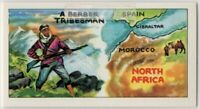 North Africa Berber Tribesmen  Vintage Ad Trade Card