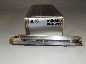 Z Scale Marklin 8876 Powered Rail Zeppelin railcar w/ Working Prop 1972-1982 A