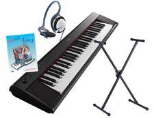 Yamaha NP-12 Deluxe Set, ePiano mit Notenheft (inkl. CD), Ständer, Kopfhörer