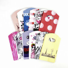 """500pcs Assorted Plastic Merchandise Bags Shopping Carrier Gift Pouches 5.5""""x3.5"""""""