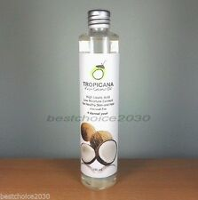 100 ML NEW TROPICANA VIRGIN COLD PRESSED COCONUT OIL FOR DRINK, HAIR & SKIN