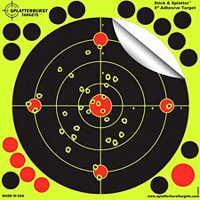 8-Inch Stick & Splatter Adhesive BB Gun Aiming Shooting Target Practice 25 Pack