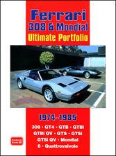 FERRARI 308 BOOK GTS GTB PORTFOLIO GTSi MONDIAL ULTIMATE GT4 V8 QV 308GTB 308GTS