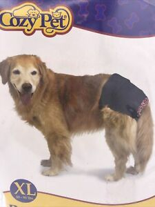 Denim XL Pet Panty w/Pads Dogs in Season Sanitary Pad Pants Shorts Cozy Pet BNIP