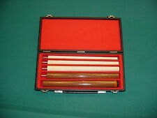 VERSATILE 5-PIECE CUE AND CASE pool billiards CARLSCUES C031-1062-15