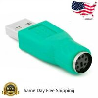 Female to USB 2.0 Male Port Adapter Converter for PC Keyboard Mouse M471