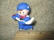 Fisher Price Little People Winter Olympic USA Team Hockey Ice Skate USA star boy