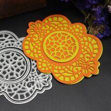 DIY Hollow Flower Metal Cutting Dies Stencil Scrapbook Mould Album Craft Paper