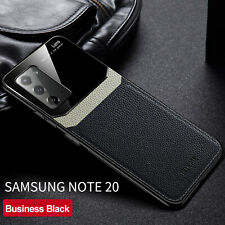 For Samsung Galaxy Note 20 / Note 20 Ultra Case Luxury Leather Hybrid Back Cover