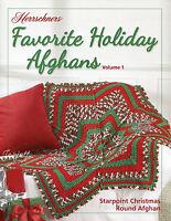 Favorite Holiday Afghans Vol 1 ~ 5 Festive Designs, Herrschners crochet patterns