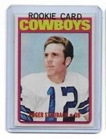 1972 Topps # 200 ROGER STAUBACH ROOKIE RC REPRINT Dallas Cowboys Sharp LOOK !
