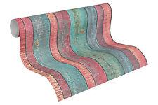 "31993-1) edle Vliestapete ""Wood & Stone"" Holz-Design Tapete Vintage Shabby-Look"