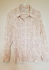 size 18 Tommy Hilfigger button down womens floral shirt