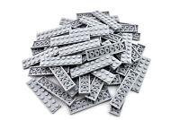 Light Bluish Gray Plate 2 x 8 - TCM Compatible Bricks - QTY: 100 pieces
