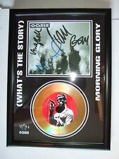 OASIS  SIGNED GOLD CD  DISC   937