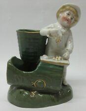 Vintage Conta & Boehme Porcelain Match Striker/Holder