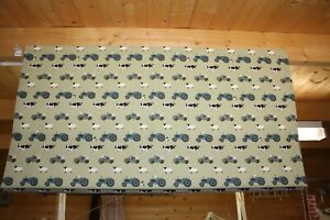 Roman Blind, Sophie Allport On the Farm fabric (Made to measure)