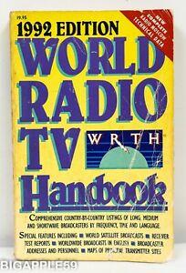 World Radio & TV Handbook WRTH 1992 - Shortwave Info - Reviews - Advertisements