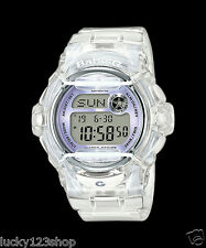 BG-169R-7E New Model Digital Casio Baby-G Watches Lady Resin Band Full Packy