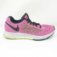 Nike Womens Zoom Pegasus 32 749344-600 Pink Running Shoes Lace Up Size 8
