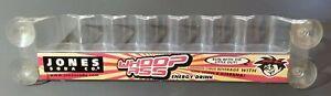 Whoop Ass Energy Drink Cooler Fridge Window Rack Jones Soda Vintage