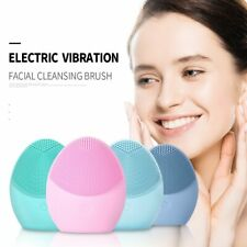 New Electric Mini facial cleansing Brush massage for wash face cleanser machine