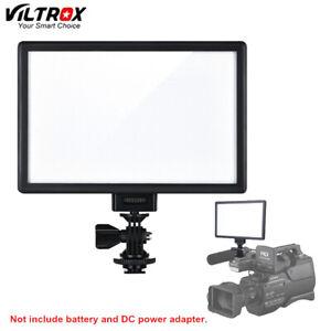 Viltrox L116T LED Video Light LCD Bi-Color DSLR LED Panel For Camera DV Camcorde
