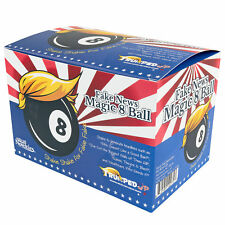 FAKE NEWS MAGIC 8 BALL Novelty Gag/Prank Gift Box Funny Trump Political Humor