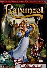 BRAND NEW DVD // RAPUNZEL & THE SIX SERVANTS // GRIMM FAIRY TALES // 2 FEATURES