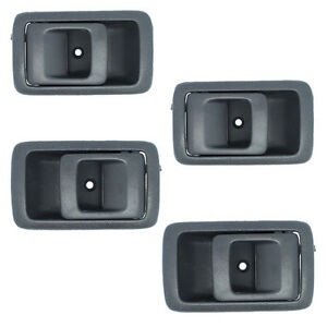 For Toyota Camry Gray DS563 1987-1991 Inside Door Handle Set Right & Left