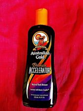 AUSTRALIAN GOLD BRONZE ACCELERATOR TANNING LOTION~100% AUTHENTIC~FAST SHIPPINGw