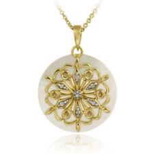 Diamond Pearl Not Enhanced Fine Necklaces & Pendants