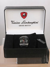 Tonino Lamborghini Herrenuhr, Swiss Watch, Modell Berlinetta, schwarz NP 800€
