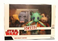 Star Wars Scenez MOS EISLEY CANTINA A New Hope Alien Figures - 2018 Damaged Box