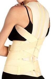 TONUS ELAST Posture Corrector Lumbar Support Round Shoulder Back Brace Scoliosis