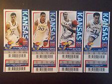 Kansas Jayhawks 2013-14 NCAA basketball ticket stubs - One ticket