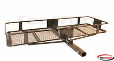 500 Lb Folding Cargo Carrier Luggage Rack Receiver Hitch Mounted with Sides