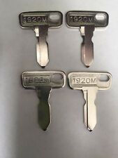Club Car Golf Cart Key 84 & Up Gas & Electric DS and Precedent 4 New Keys