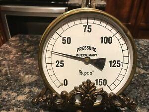 Queen Mary Ship Brass Pressure Regulator