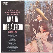 AMALIA Y JOSE ALFREDO V De Tecalitlan R Fuentes MEX Press RCA MKL/S 1580 1964 LP